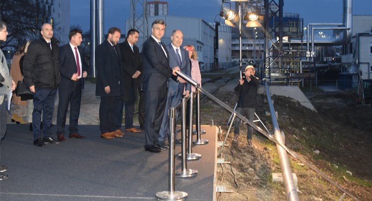 The construction of HRK 900 M EL-TO CCPP Unit Zagreb started