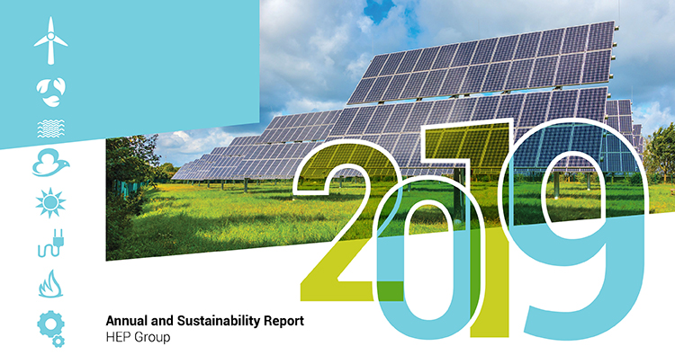 HEP Group published Annual and Sustainability Report for 2019