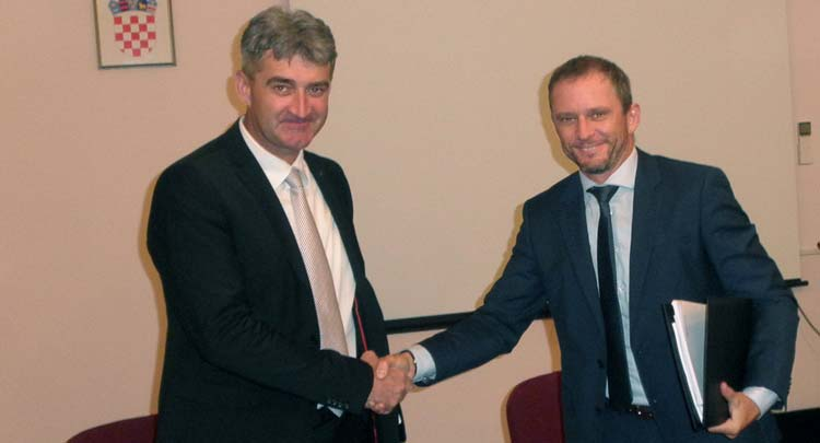The EUR 9.5 million agreement on the modernization of the TPP Plomin 2 turbine signed