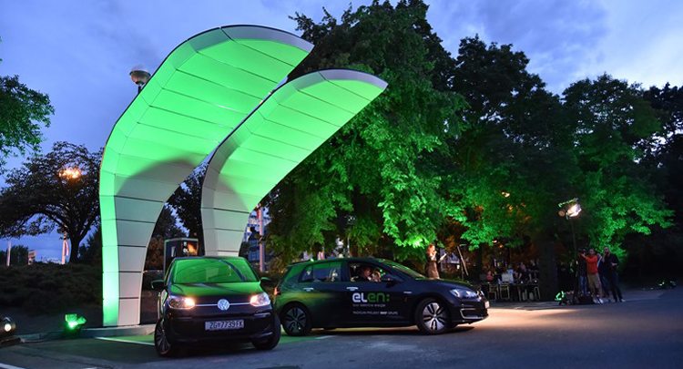 First ultrafast EV charging station in Croatia put into operation in Zagreb