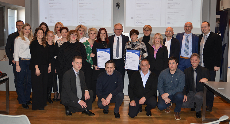 HEP Proizvodnja received certificates ISO 14001:2015 and ISO 9001:2015