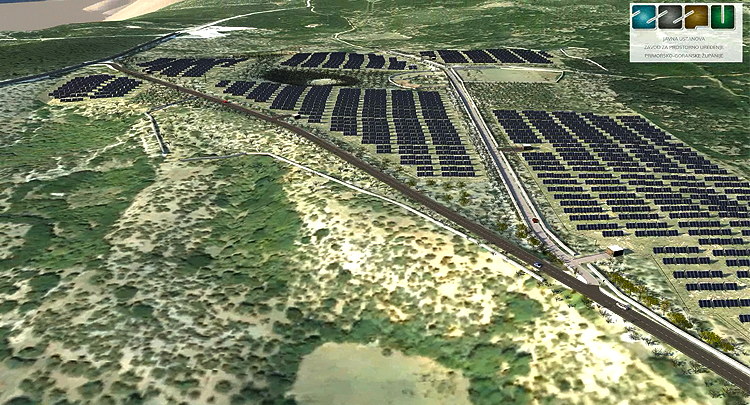 HEP will build Croatia's biggest solar power plant on the island of Cres
