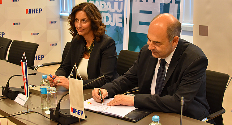 HEP signed key agreements for construction of modern power generating unit in Zagreb