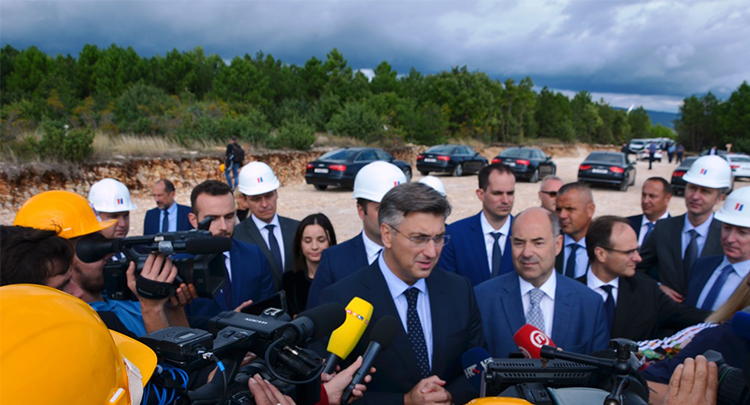 500 million kuna worth Wind Farm Korlat being constructed by HEP