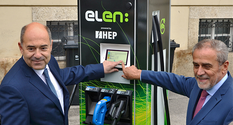HEP put into operation 100th ELEN electric vehicle charging station in Zagreb
