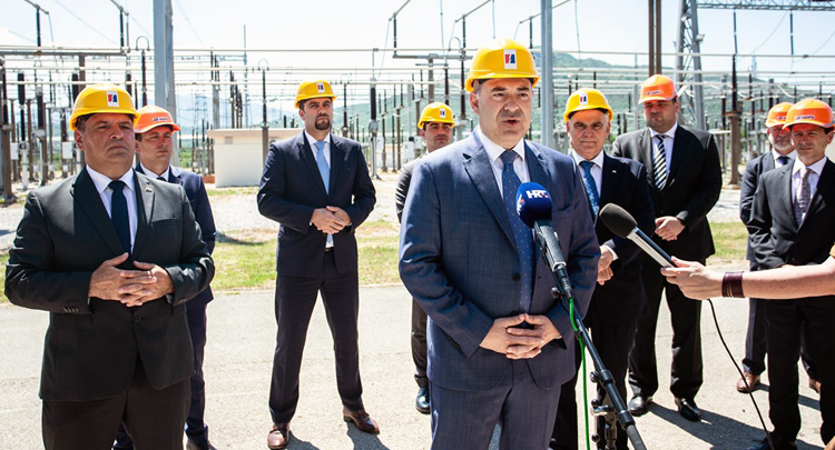 More than HRK 200 m invested in Konjsko and Sućidar substations to ensure the security of supply to Split and south Croatia