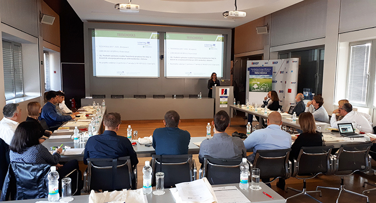TEESCHOOLS - External training course was held in Zagreb