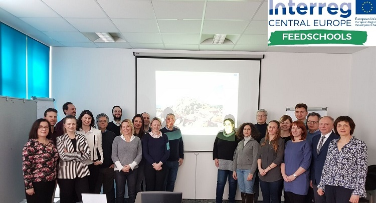 FEEDSCHOOLS - 2nd project meeting in Graz (21st– 22nd February 2018)