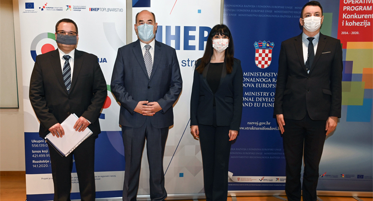HEP invests HRK 700 m into heat networks in Zagreb